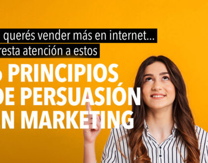 Principios de persuasión en marketing